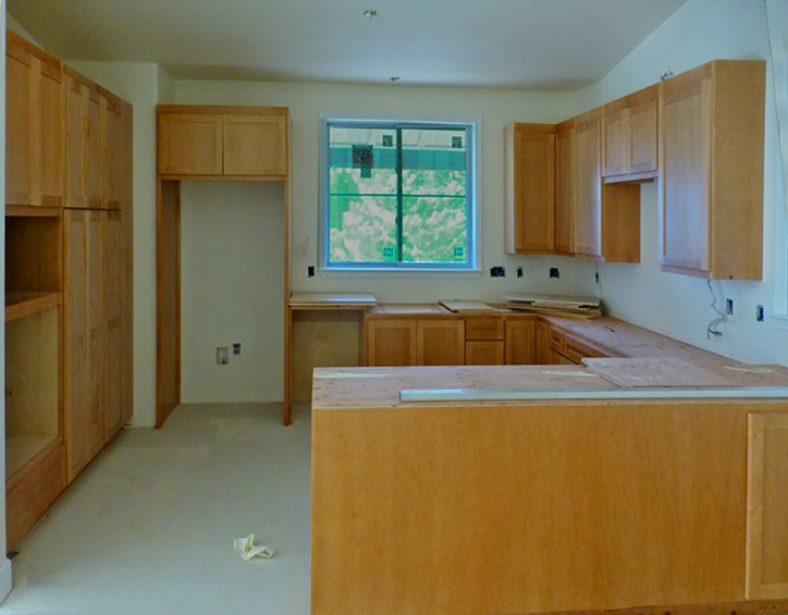 Kitchen cabinetry, B rotated
