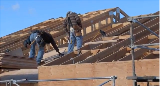 Sheathing roof (link to video)
